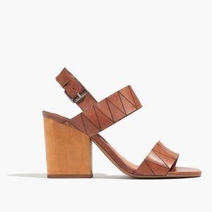 madewell • karina heeled sandals 7